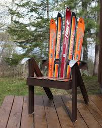 Ski Service Bench Build A Lawn Chair From Recycled Skis The Ski Chair 4 Steps