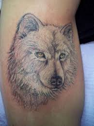 white wolf tattoo my body is my canvas pinterest white wolf