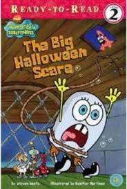 spongebob squarepants the big halloween scare by steven banks
