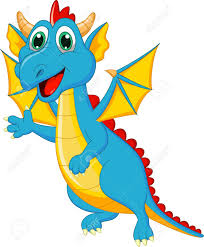 cute dragon cartoon royalty free cliparts vectors and stock
