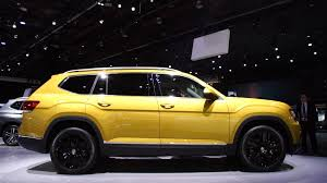 new volkswagen car all new 2018 volkswagen atlas adds a three row suv to carmaker u0027s