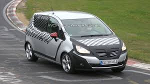 opel japan opel meriva spied less disguised on the ring