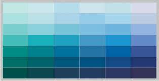 blue paint names magnificent blue paint sample colors chart 3
