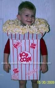 Halloween Costumes Ten Boys 18 Popcorn Costume Images Popcorn Costume