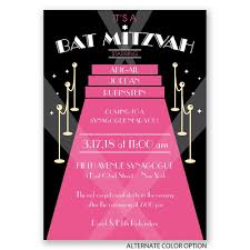 bas mitzvah invitations carpet bat mitzvah invitation invitations by