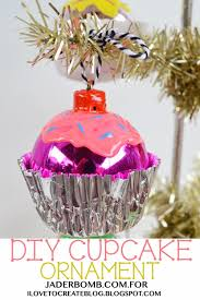 ilovetocreate diy cupcake ornaments