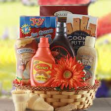 Ice Cream Gift Basket Create A Fun Finals Week Care Package For Your College Student