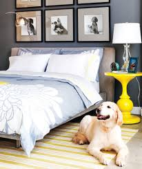 Accent Wall In Small Bedroom Unique Yellow Round Side Table For Small Bedroom Decorating Ideas