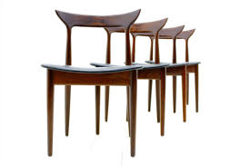 Dining Room Chairs Set Of 4 Dining Room Chairs Set Of 4 Vintage Rosewood And Leather Dining