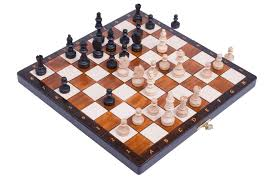 Wooden Chess Set The Magnetic Chess Set And Board Combo House Of Staunton