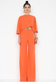 orange jumpsuit seiber orange backless jumpsuit style womens