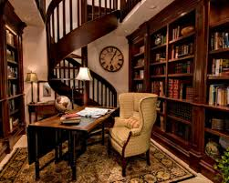 30 classic home library glamorous home office library design ideas