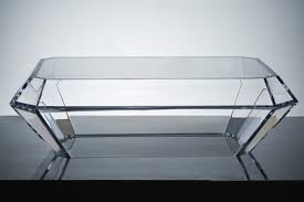 Clear Lucite Desk Avf Products Acrylic Furniture
