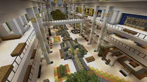 City Maps For Minecraft Pe Mall Shopping Center Beach Town Project Minecraft Project