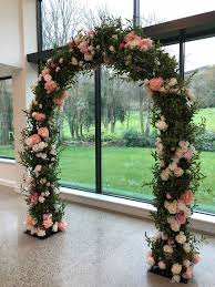 wedding arches to hire blossom trees arches uplit event hire