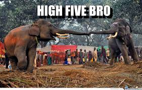 High Five Meme - high five bro by diediebydie meme center