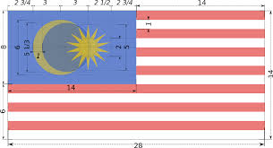 Maylasia Flag File Construction Sheet Of Flag Of Malaysia Svg Wikimedia Commons