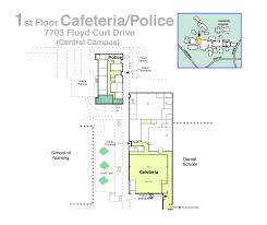 Cafeteria Floor Plan by Environmental Health And Safety Ehs Campus Building Floor Plans