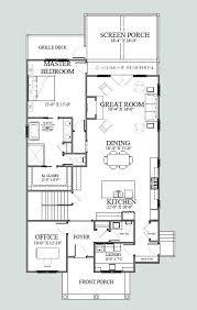 narrow cottage plans plan w32183aa florida narrow lot mediterranean house plans