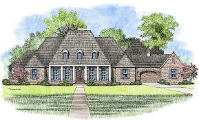 County House Plans by Madden Home Design French Country House Plans Acadian House Plans