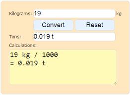 converter luas convert kilograms to tons weight calculator kilograms to tons
