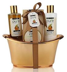 spa gift basket honey green tea exclusive spa gift basket for skin