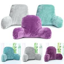 bed rest pillow with cup holder bed rest pillow with arms and cup holder bed pillow with arms