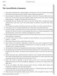 Flags Of Our Fathers Book Summary The Aeneid Book 2 Summary 1 Aeneas Aeneid