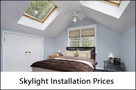 how much does it cost to install a flat pack kitchen skylight installation cost 2021 skylight price calculator