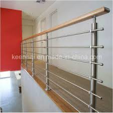 Stainless Steel Stair Handrails China Fashionable Design Metal Stainless Steel Stair Railing