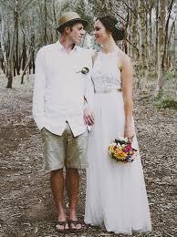 simple wedding dresses buy simple sleeveless floor length lace top wedding dress