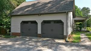 carriage style garage door dark gray amarr u0027s oak summit in