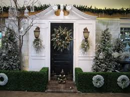 front door entrance decorating ideas design for christmas arafen