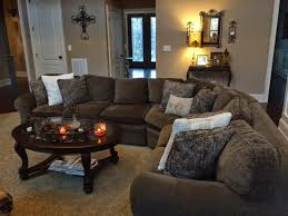 Large Brown Sectional Sofa In The House Bdh Updates A New Brown Sectional