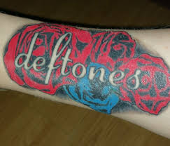 my deftones tattoo deftones