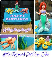 mermaid birthday cake ariel the mermaid birthday cake idea