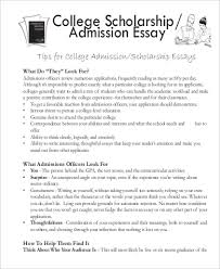 college scholarships essay examples   Template How to get Taller Example of College Essay      Samples in Word  PDF