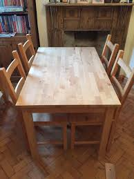 ingo ikea hack ikea ingoivar dining table with 4 chairs in cinderford ingo table