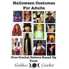 free halloween costumes halloween costumes for adults u2013 free crochet pattern round up