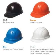contractors move to new coloured hard hat regime newell u0027s