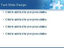jigsaw puzzle piece powerpoint template background in business