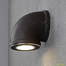 Vintage Wall Sconce Lighting Industrial Wall Lamp Water Pipe Wall Sconces Black Led Vintage