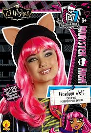 howleen wolf 13 wishes rubie s official high mattel howleen wig child costume
