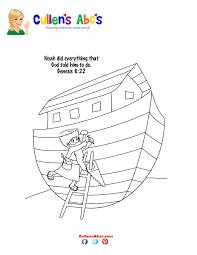 noahs ark coloring page noahus ark coloring pages with noahs ark