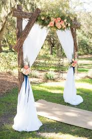 wedding arches rustic navy pink rustic themed countryside wedding navy pink