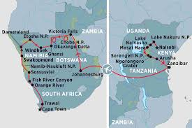 Map Of Tanzania Africa by Tanzania Tours Travel U0026 Trips Peregrine Adventures Us