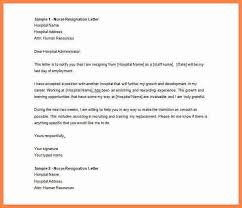 resignation letters in doc gallery of resignation letter