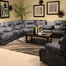 Recliner Sofa Sale Sectional Reclining Sofa Sale Voyager Slate Sectional 572