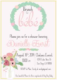 baby brunch invitations brunch with bebe countryside inspired baby shower