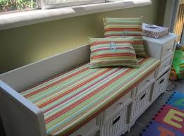 bench custom cushion covers only window seat intended for